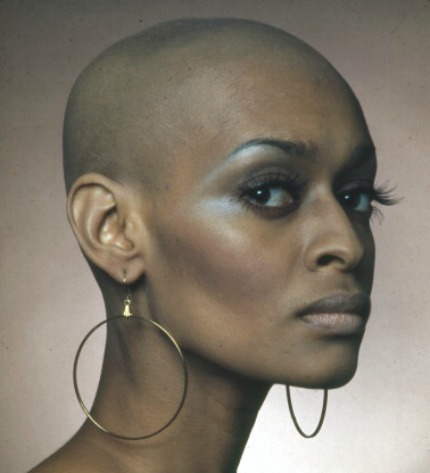 Woman with big chop - Why is natural hair considered masculine