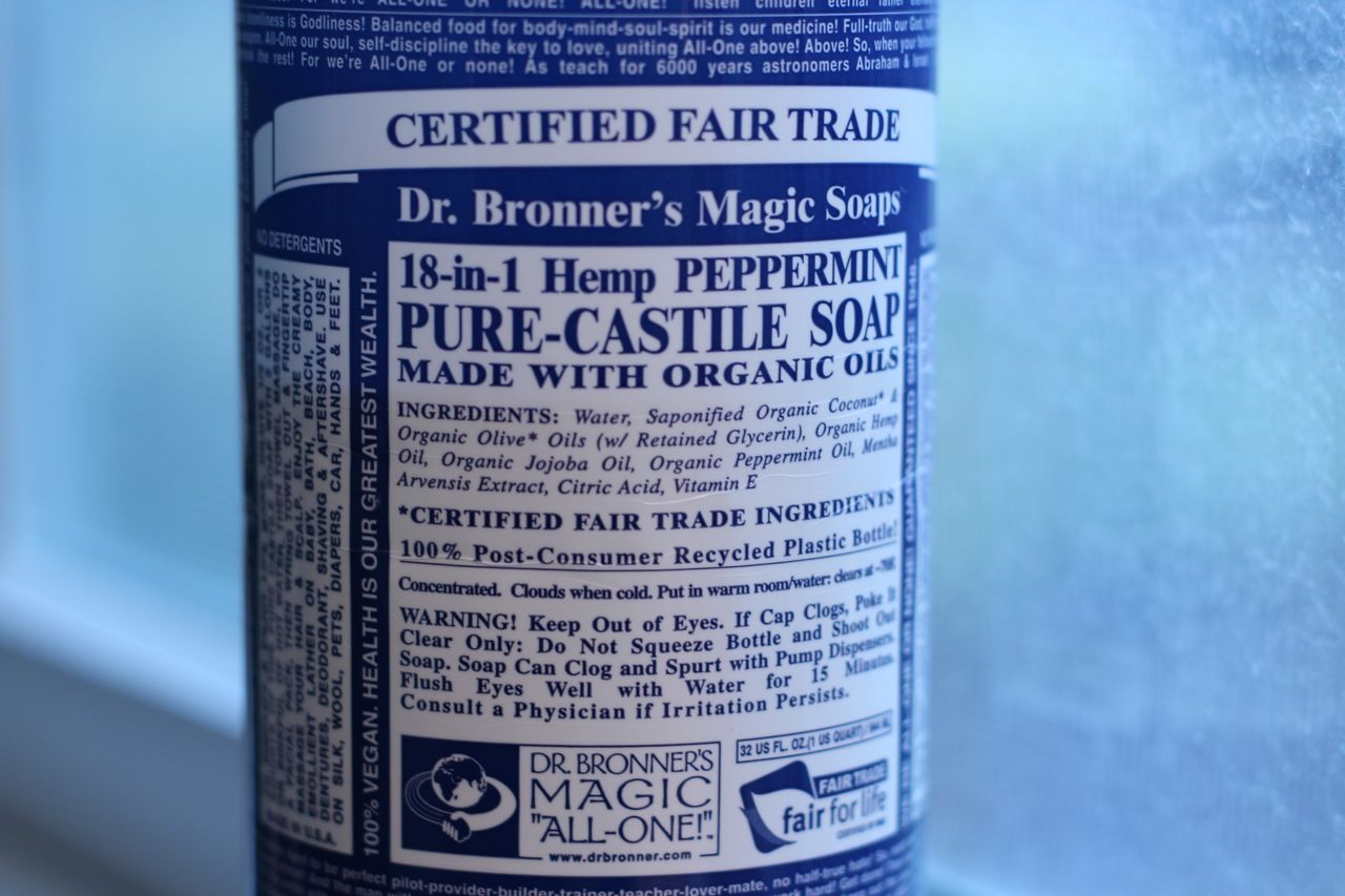 Why I Hate Dr. Bronner's Castile Soap in My Hair - CURLYNUGROWTH.com