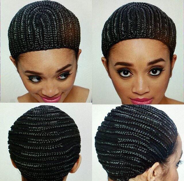 Vivica Fox Hair Collection Cornrow Cap - CURLYNUGROWTH.com