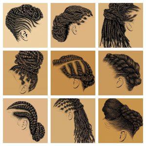 Natural Hair Artwork