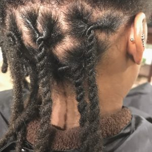 Compression Style For Locs
