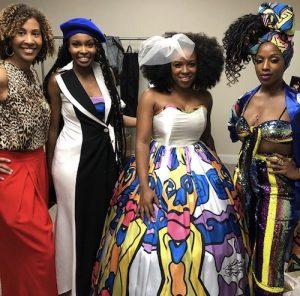 Cantu Beauty Team at New York Fashion Week