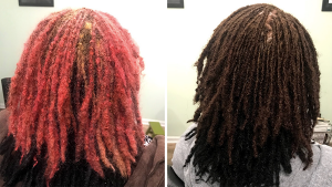 color correction on locs