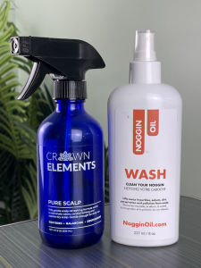 Crown Elements PURE SCALP and Noggln Oil WASH